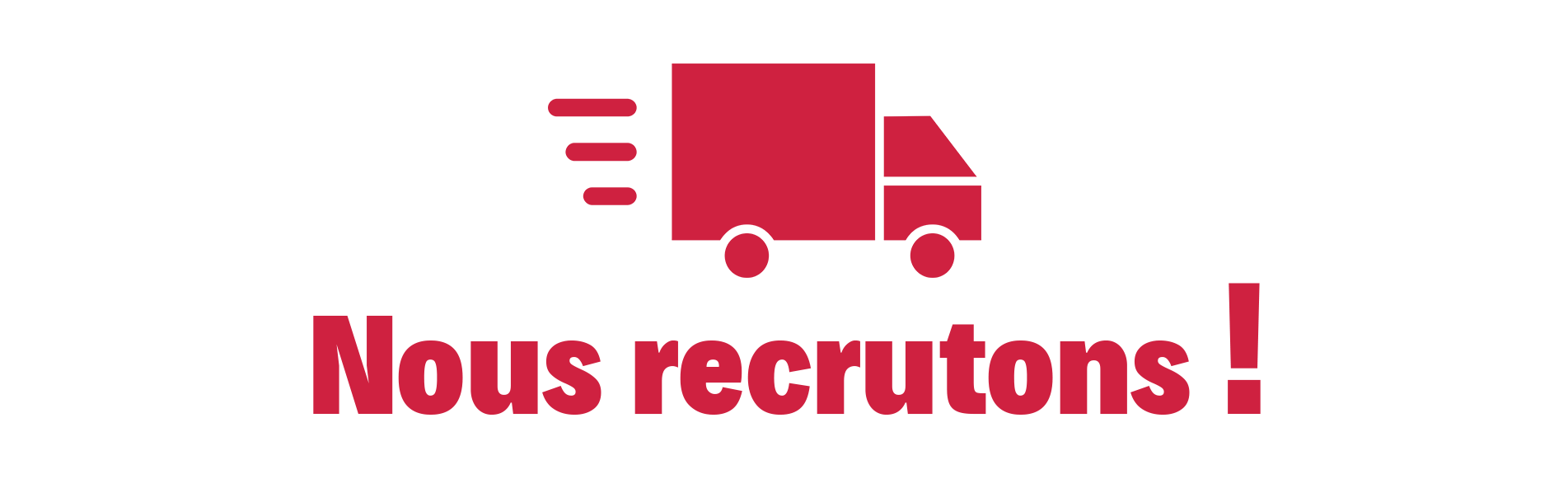 Nous recrutons png